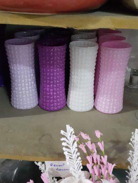 Benekli Renkli Vazo