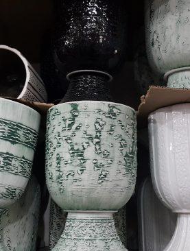Ayaklı Seramik Vazo