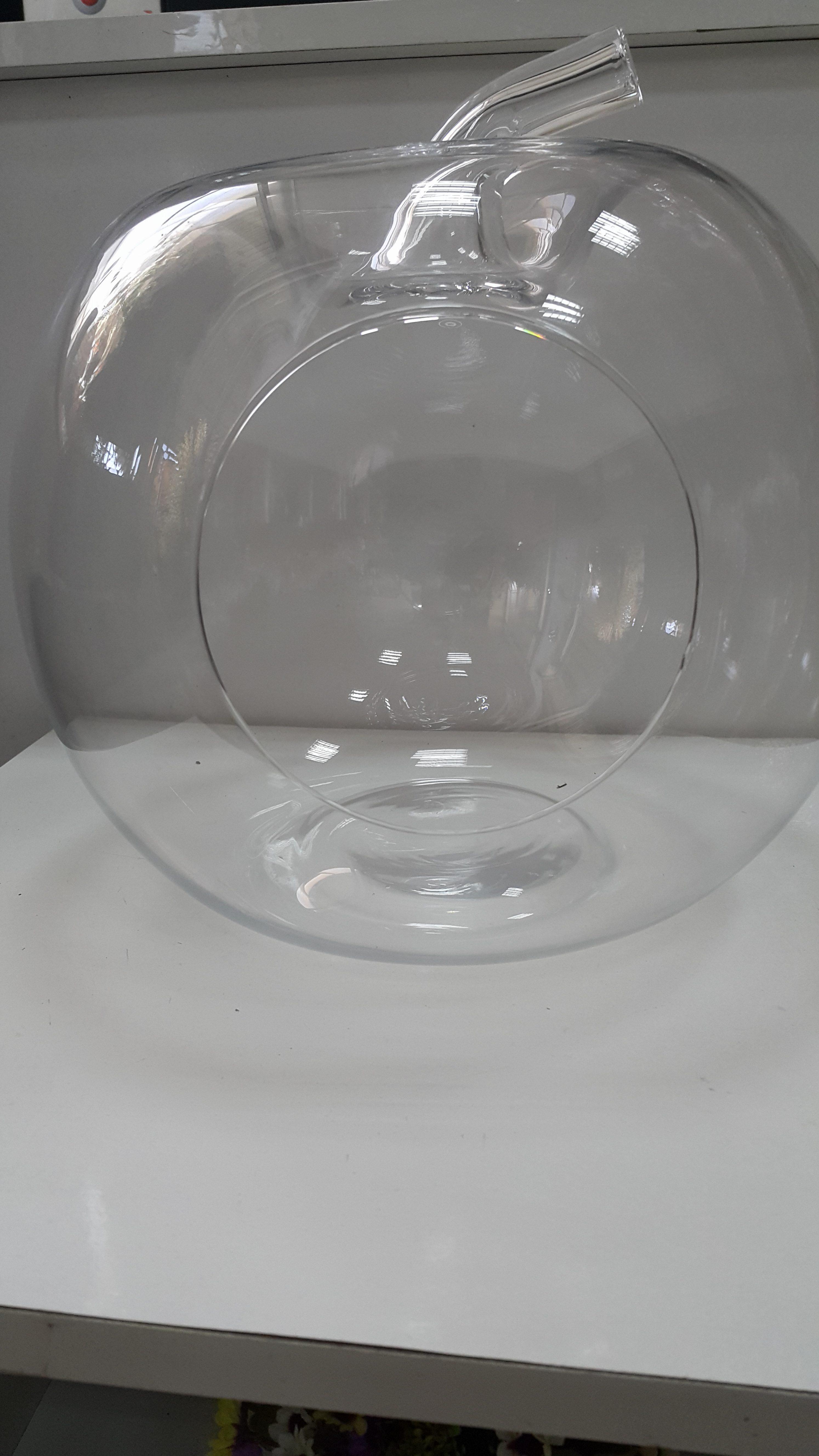 Teraryum Cam Büyük Elma