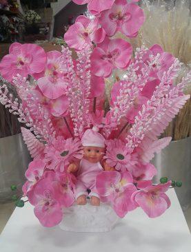 Bebekli Yapay Çiçek 2