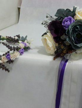Gelineli Çiçeği Gelin tacı